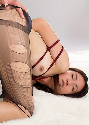 fuck, madoka yukishiro, oiled, pussy, stockings, teasing, torn pantyhose, white stockings,