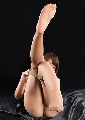 cum in legs, hairy pussy, shino aoi, torn pantyhose,